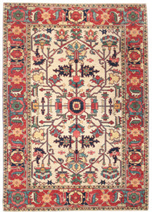 Heriz, an example of a geometric rug design
