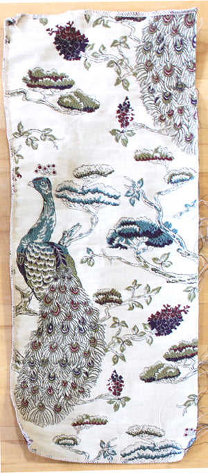 Peacock Upholstery Fabric