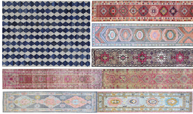 Landry and Arcari Showroom with thousands of Antique and Vintage Rugs