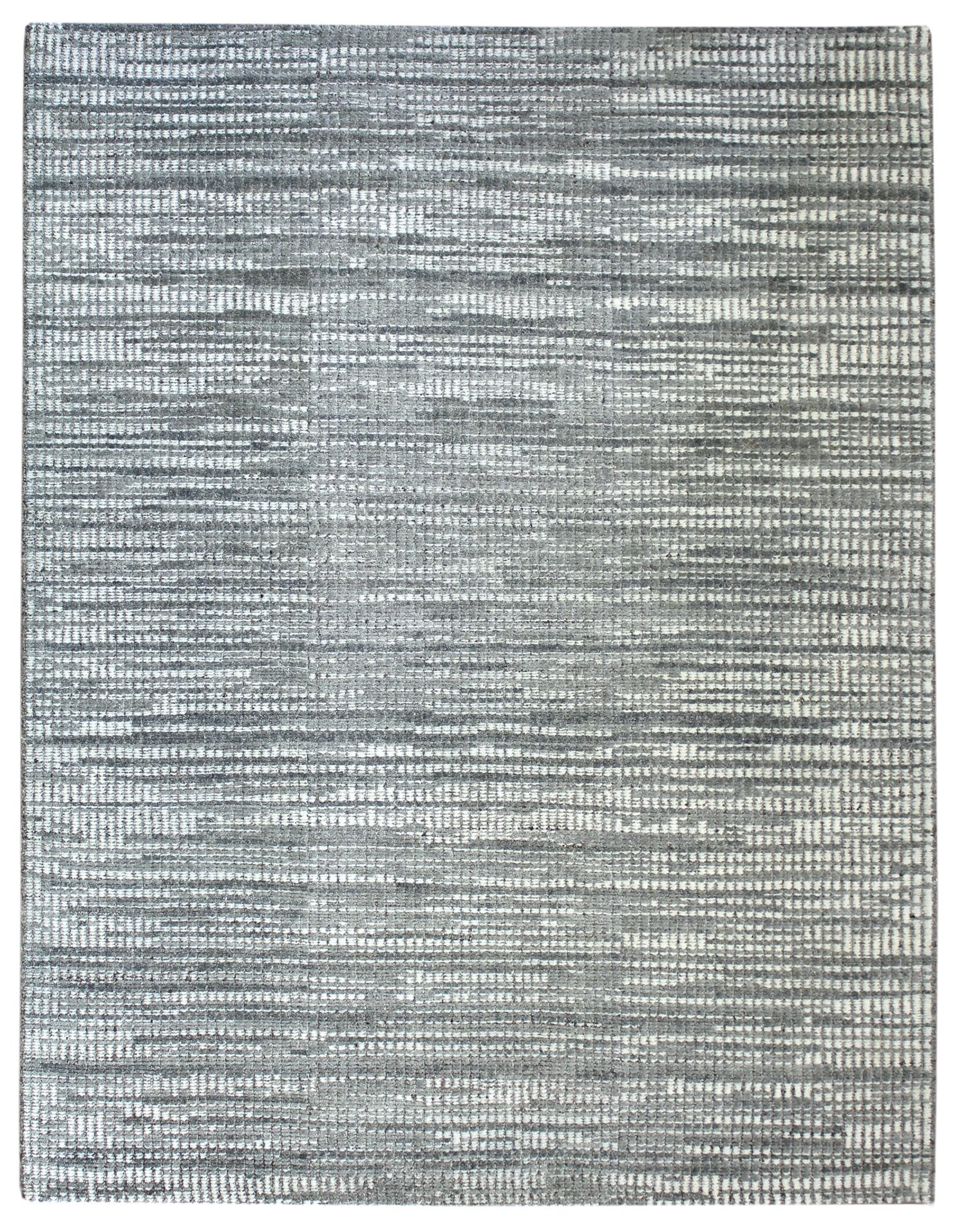 Cable Knit Handwoven Contemporary Rug
