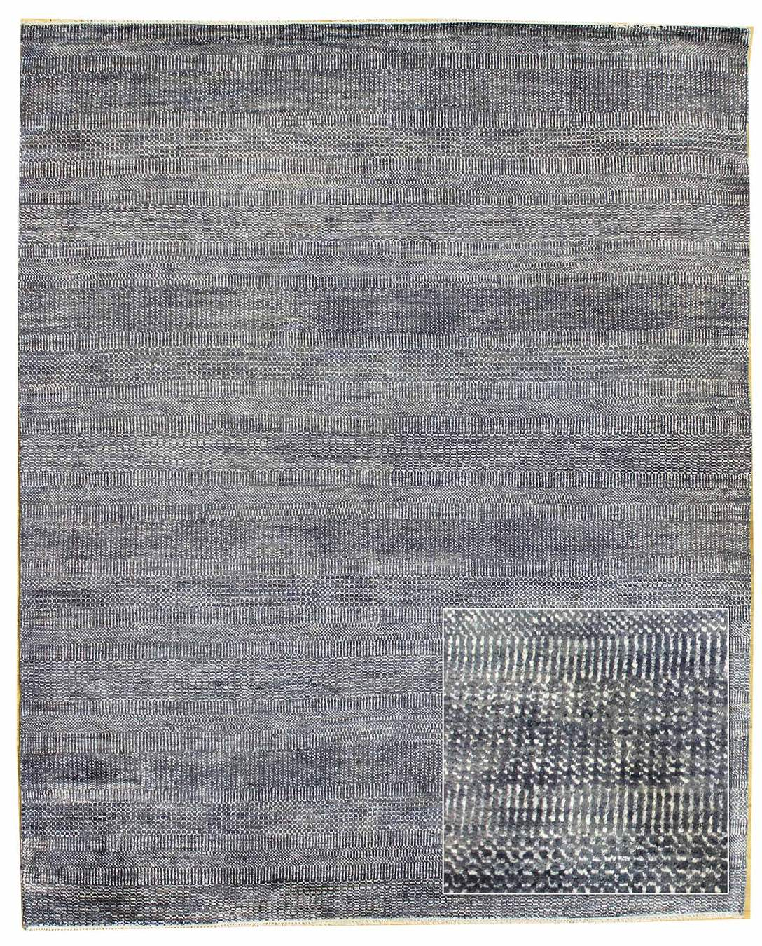 Illusion Pattern Handwoven Contemporary Rug