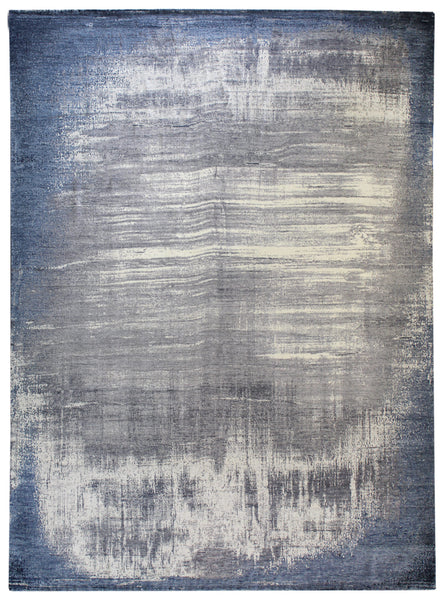 Misty Handwoven Contemporary Rug