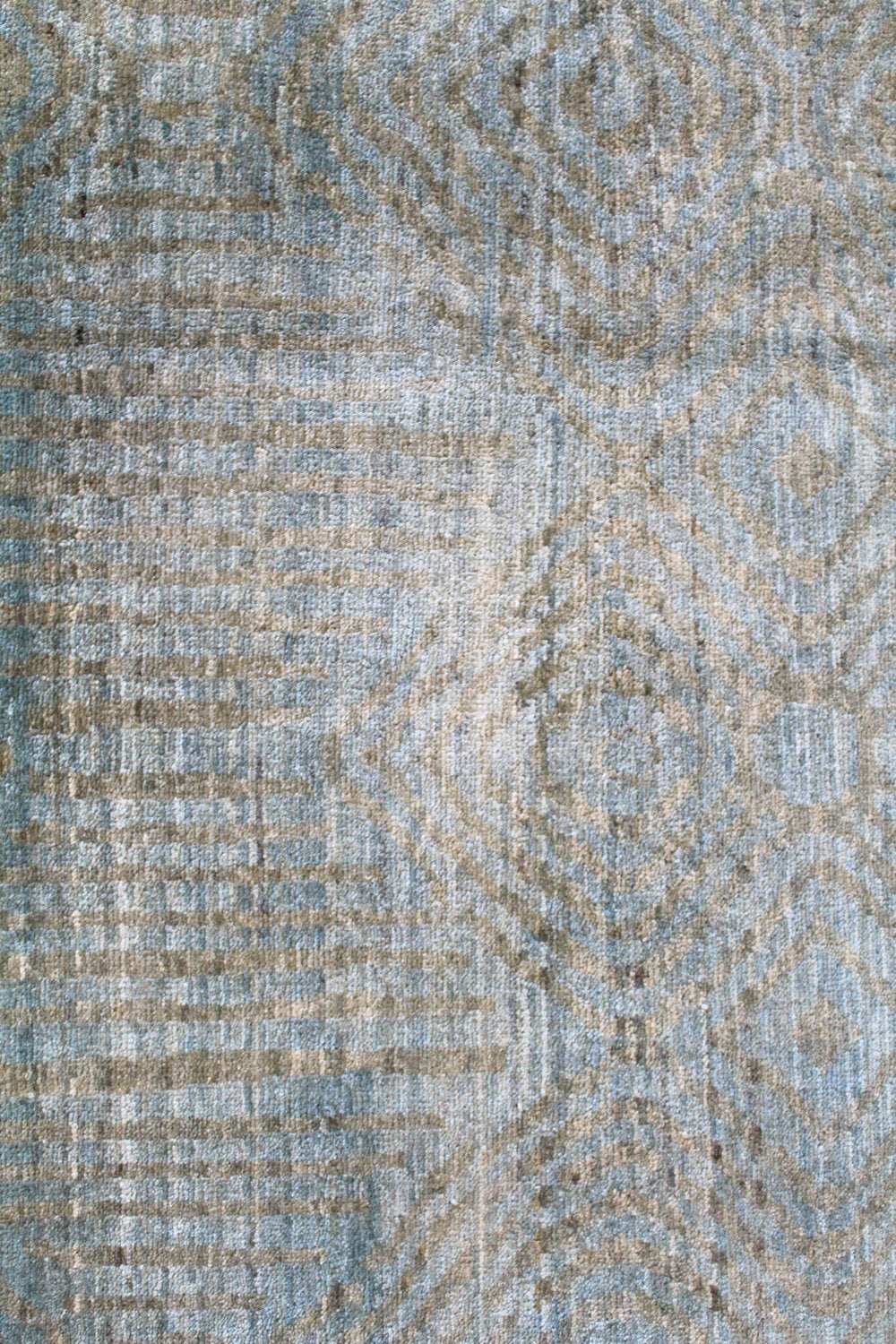 North African Handwoven Contemporary Rug