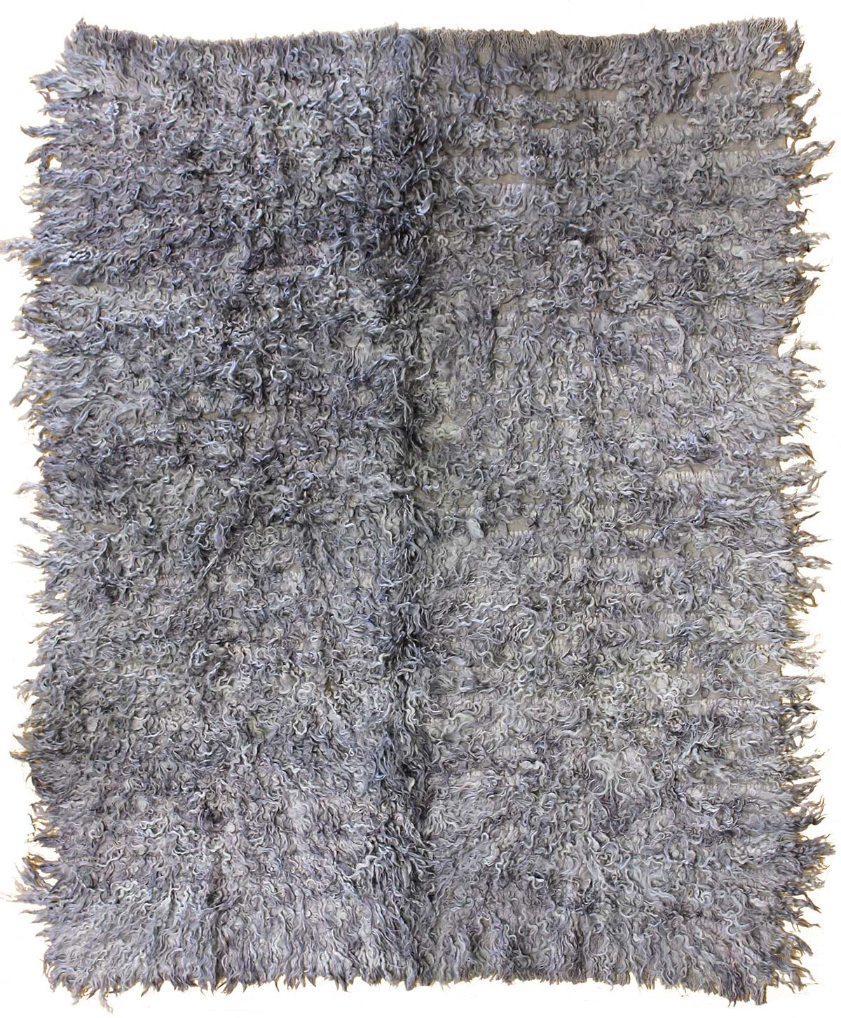 Overdyed Handwoven Contemporary Rug