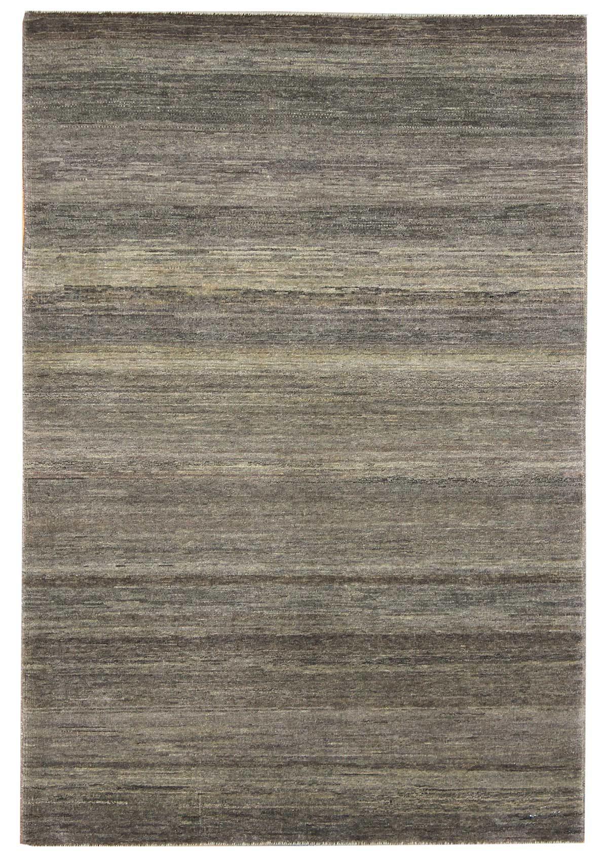 Plain Gabbeh Handwoven Contemporary Rug
