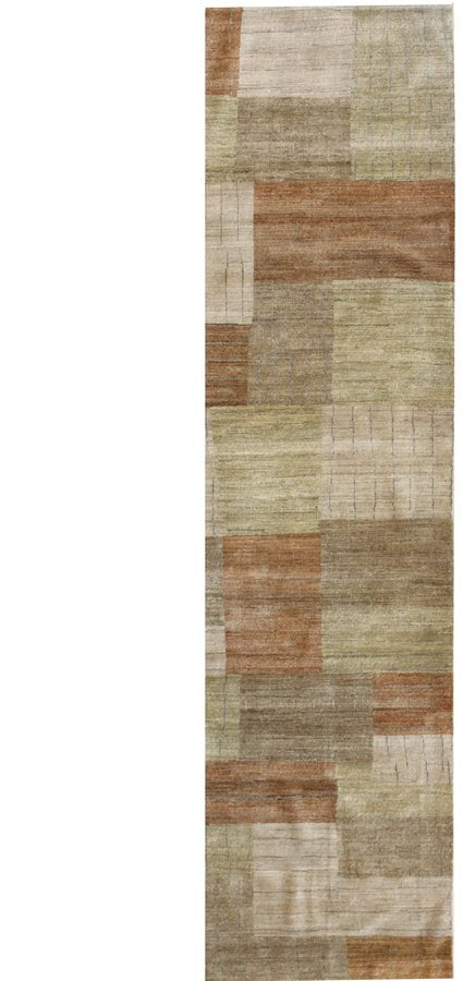 Rectangles Handwoven Contemporary Rug