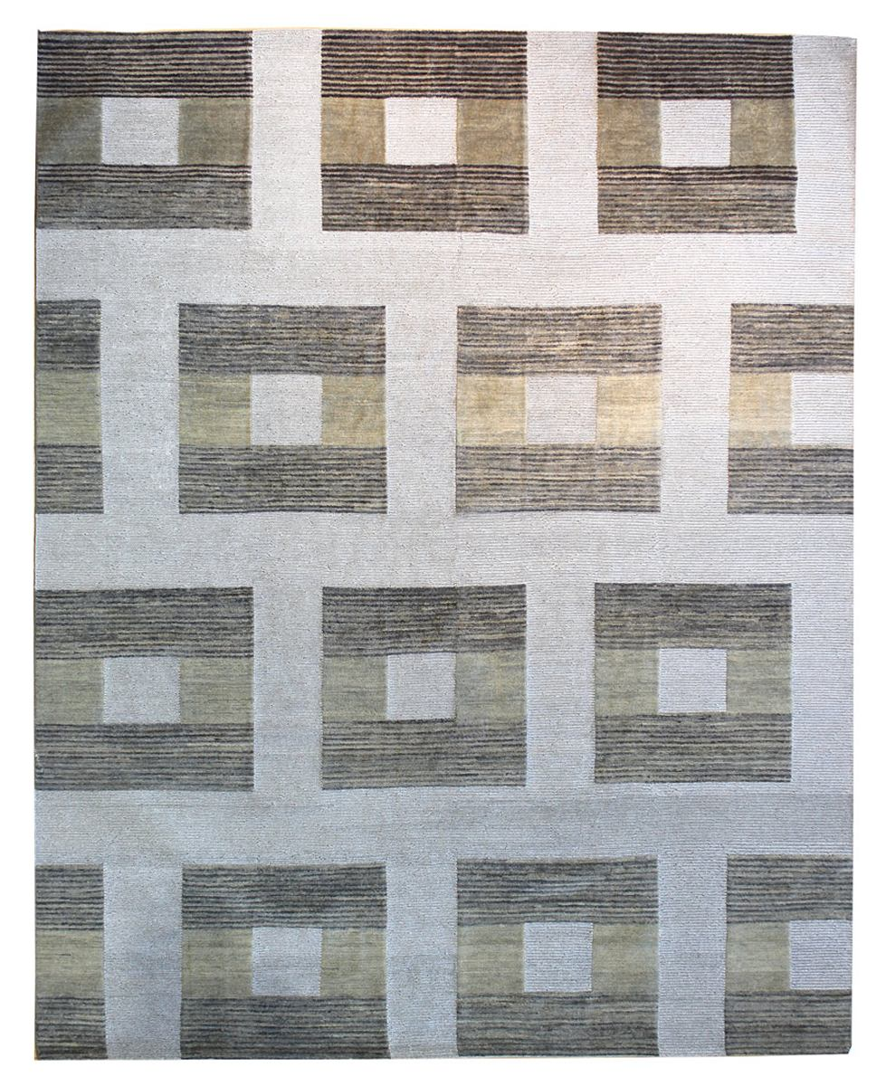 Sante Fe Handwoven Contemporary Rug