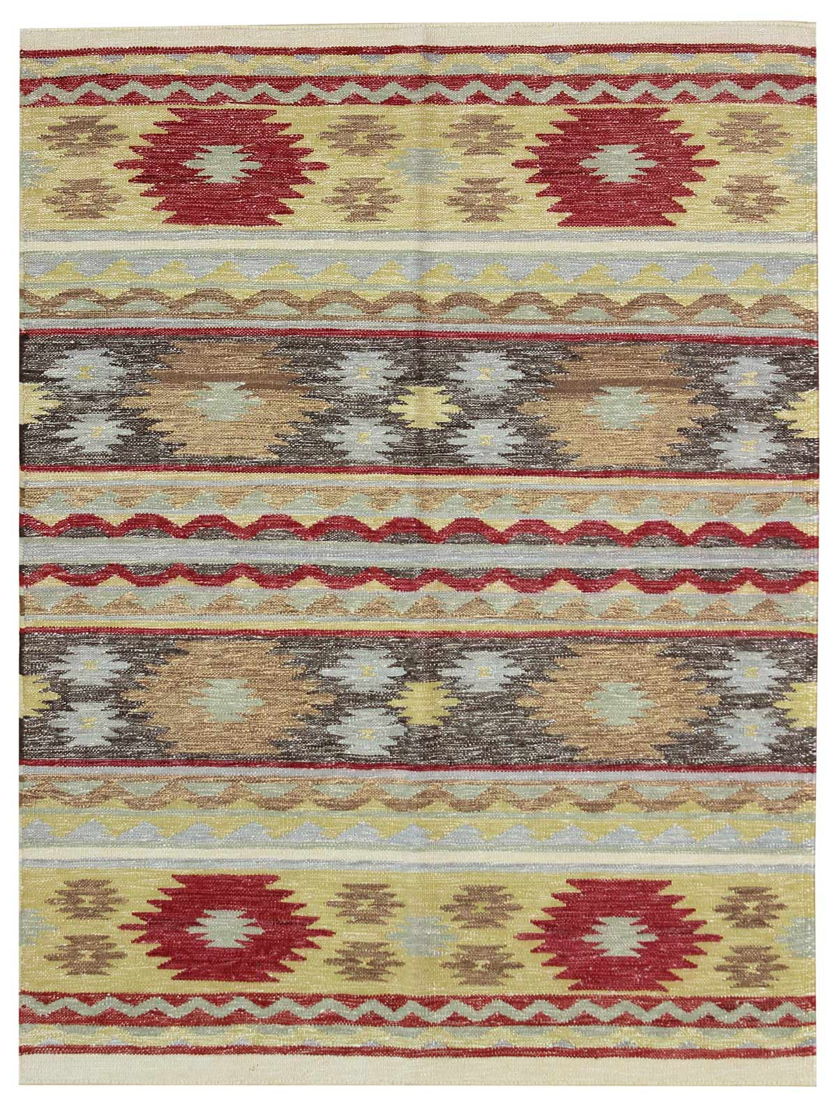 South West Handwoven Contemporary Rug