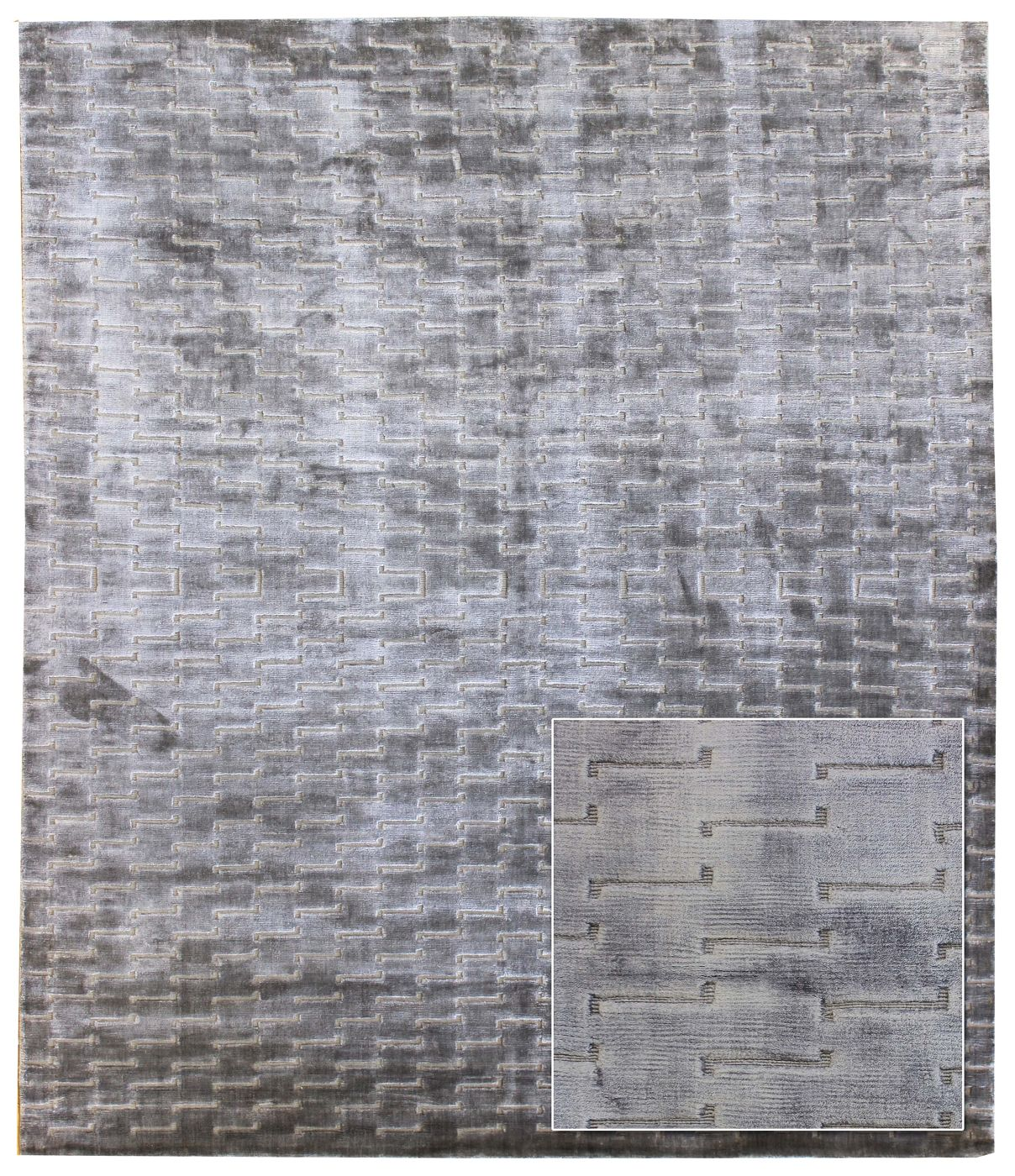 Step Up Handwoven Contemporary Rug