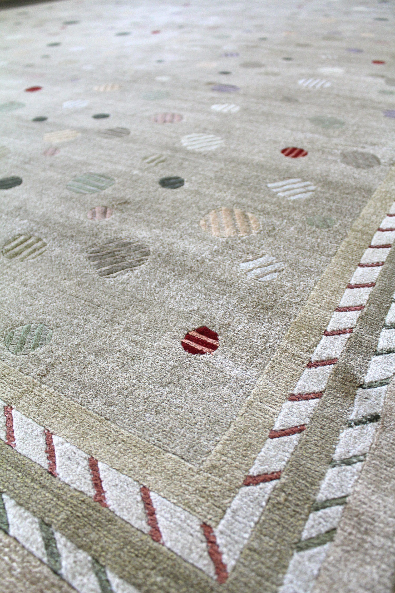 Vision Handwoven Contemporary Rug
