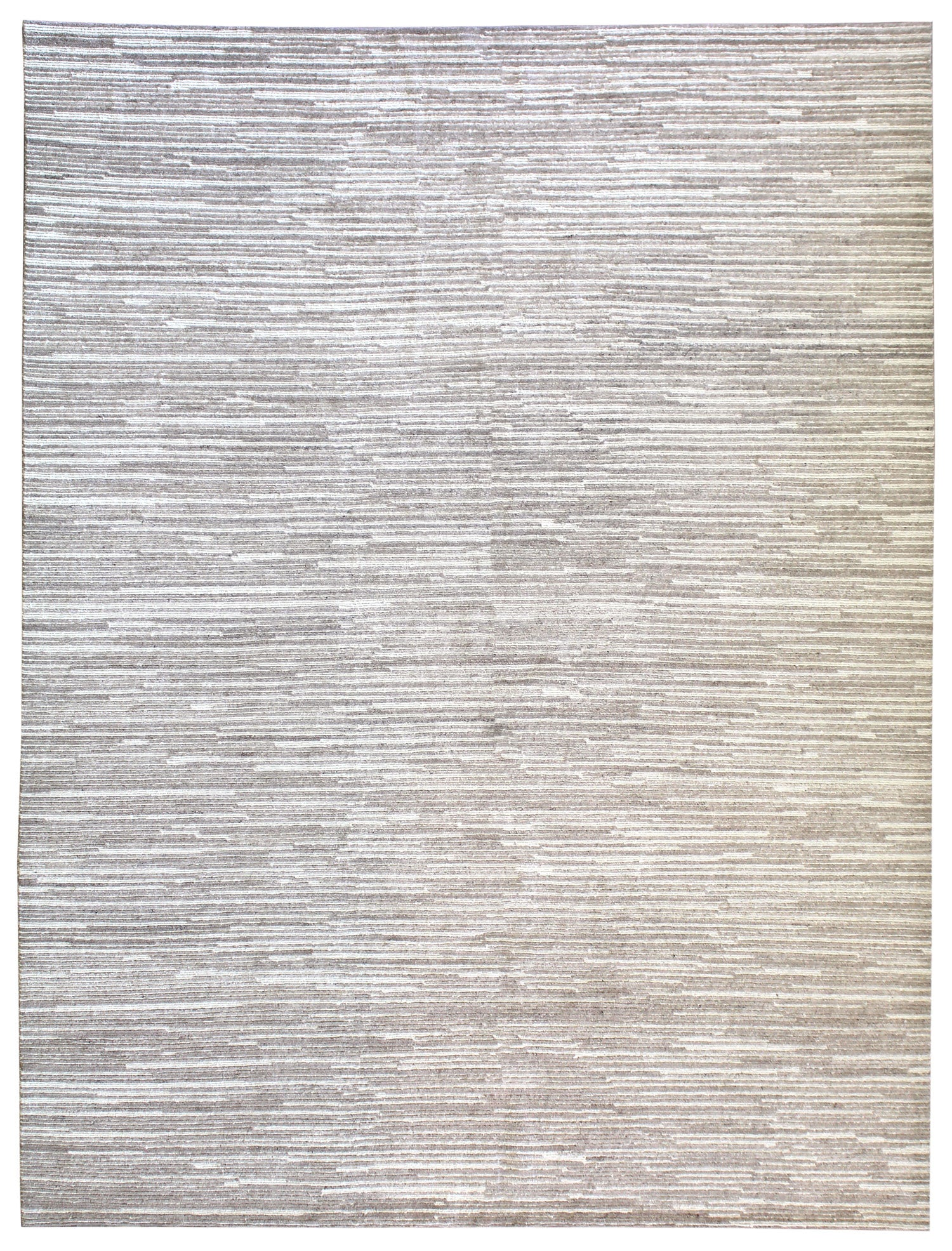 Wool Lines Handwoven Contemporary Rug