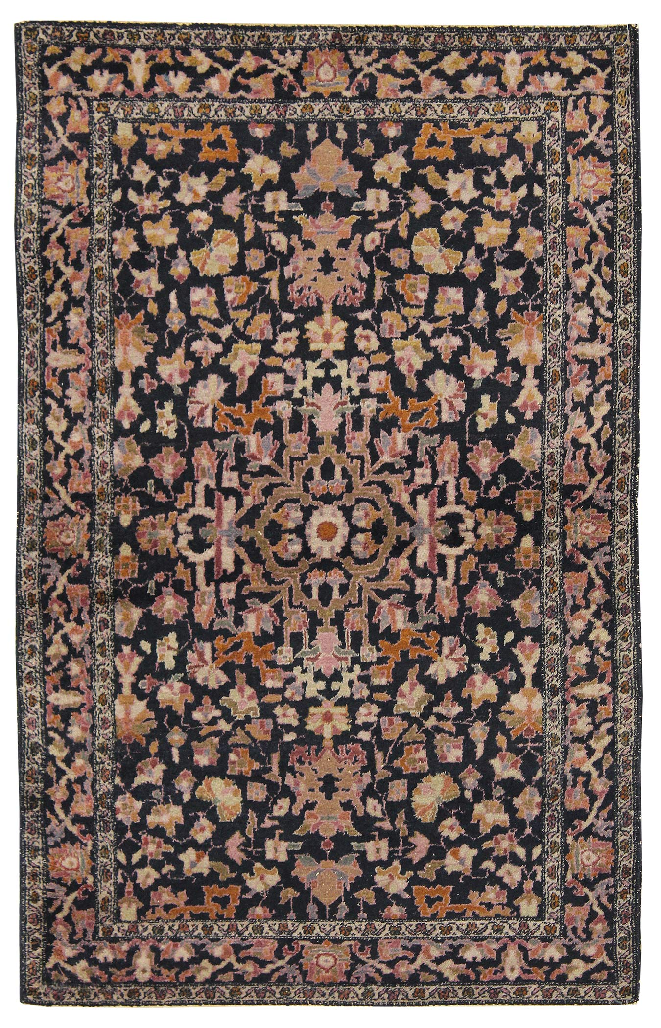 Antique Amritsar Handwoven Traditional Rug
