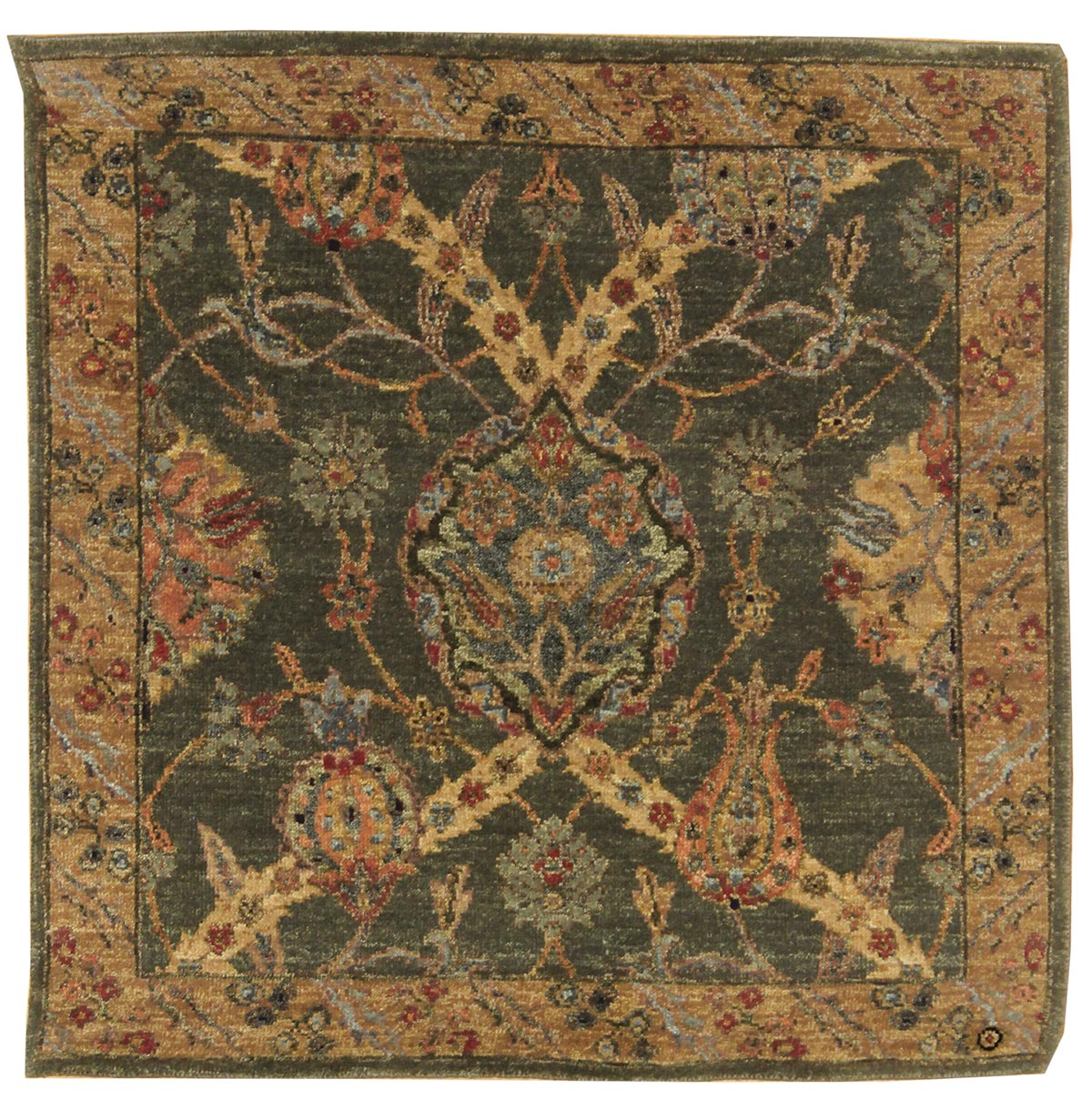 Arts & Crafts Handwoven Traditional Rug