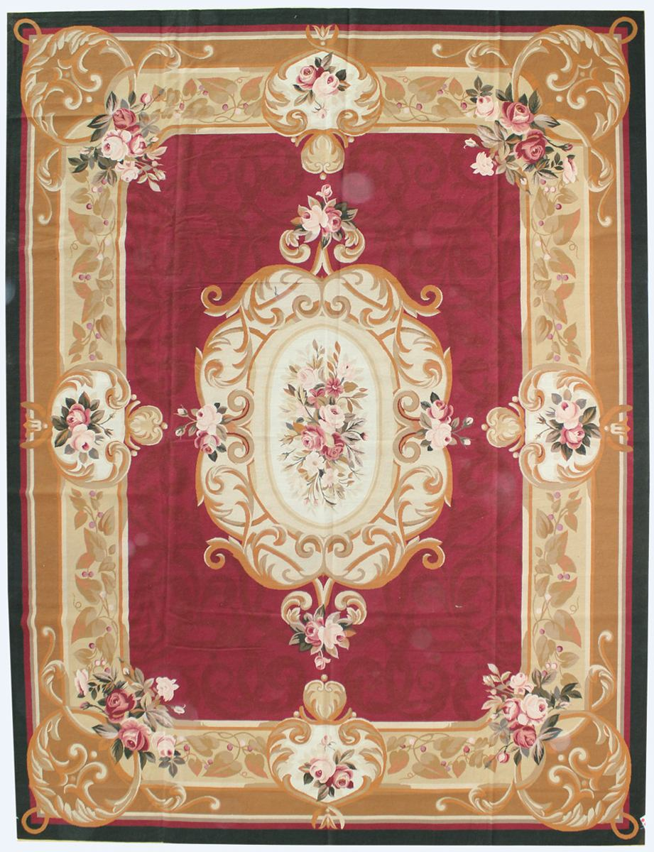 Aubusson Needlepoint Traditional Rug