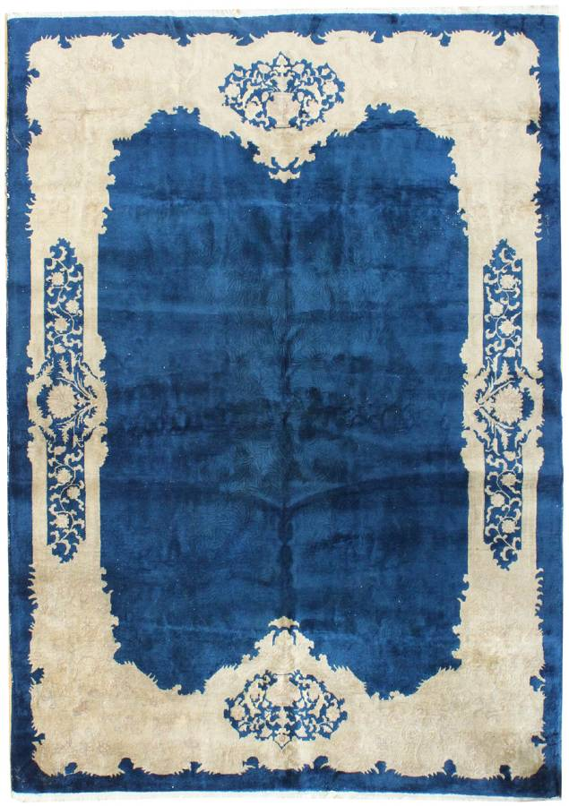 Antique Deco Handwoven Traditional Rug