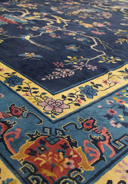 Antique Feddeh Handwoven Traditional Rug
