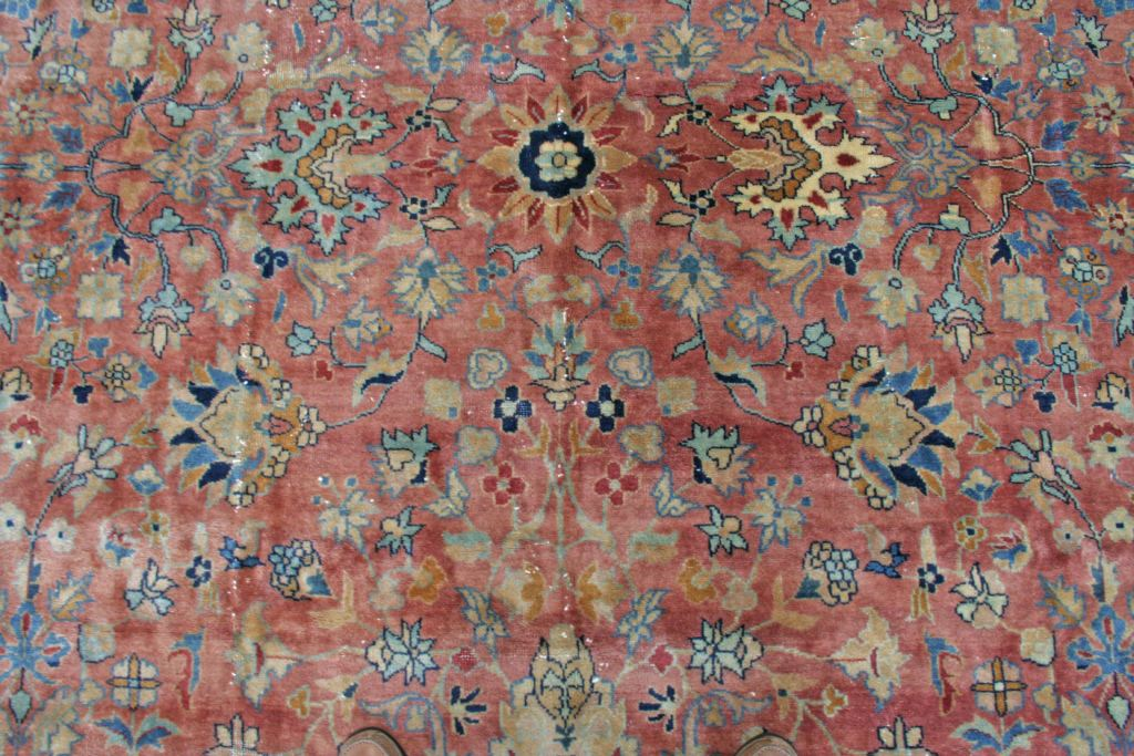 Antique Kandahar Handwoven Traditional Rug