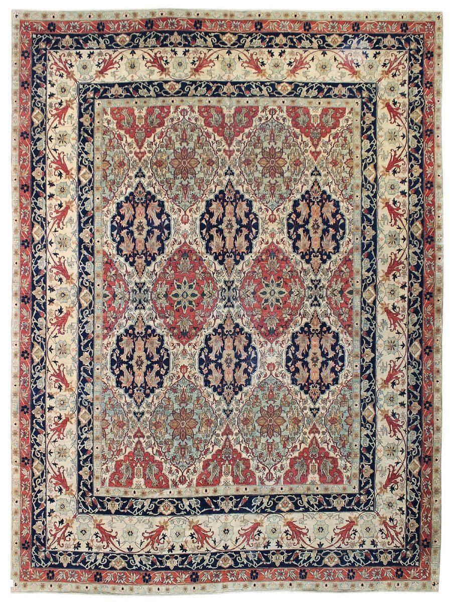 Lavar Kerman Handwoven Traditional Rug