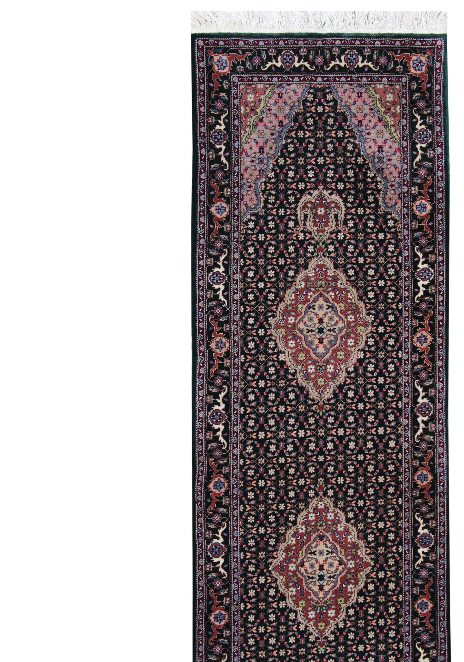 Mahi Tabriz Handwoven Traditional Rug