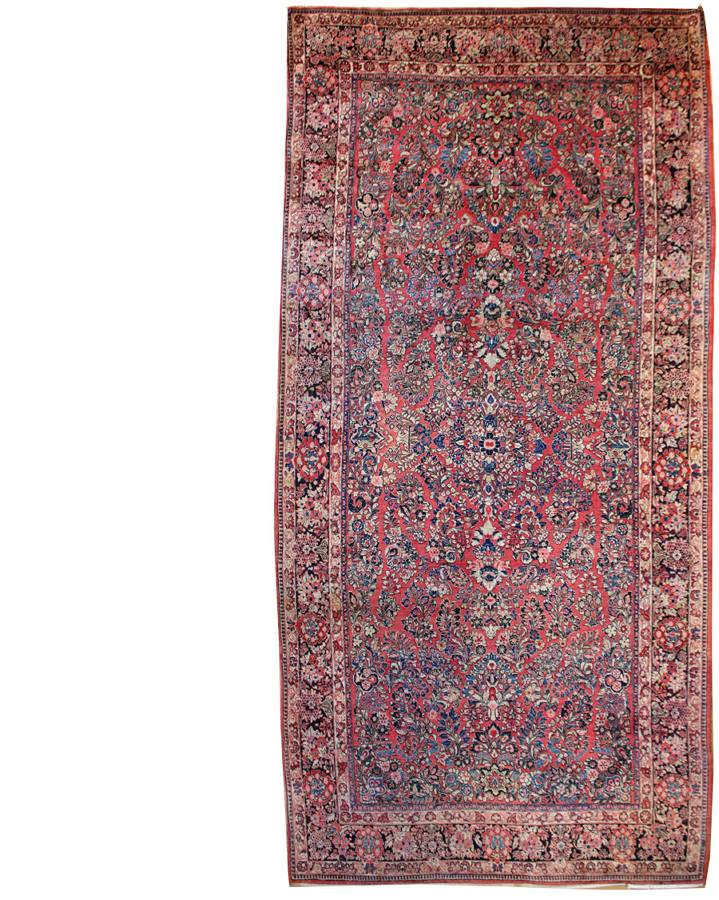 Antique Medallion Handwoven Traditional Rug