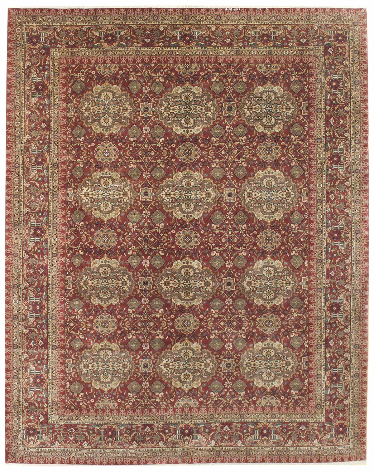Motasham Handwoven Traditional Rug
