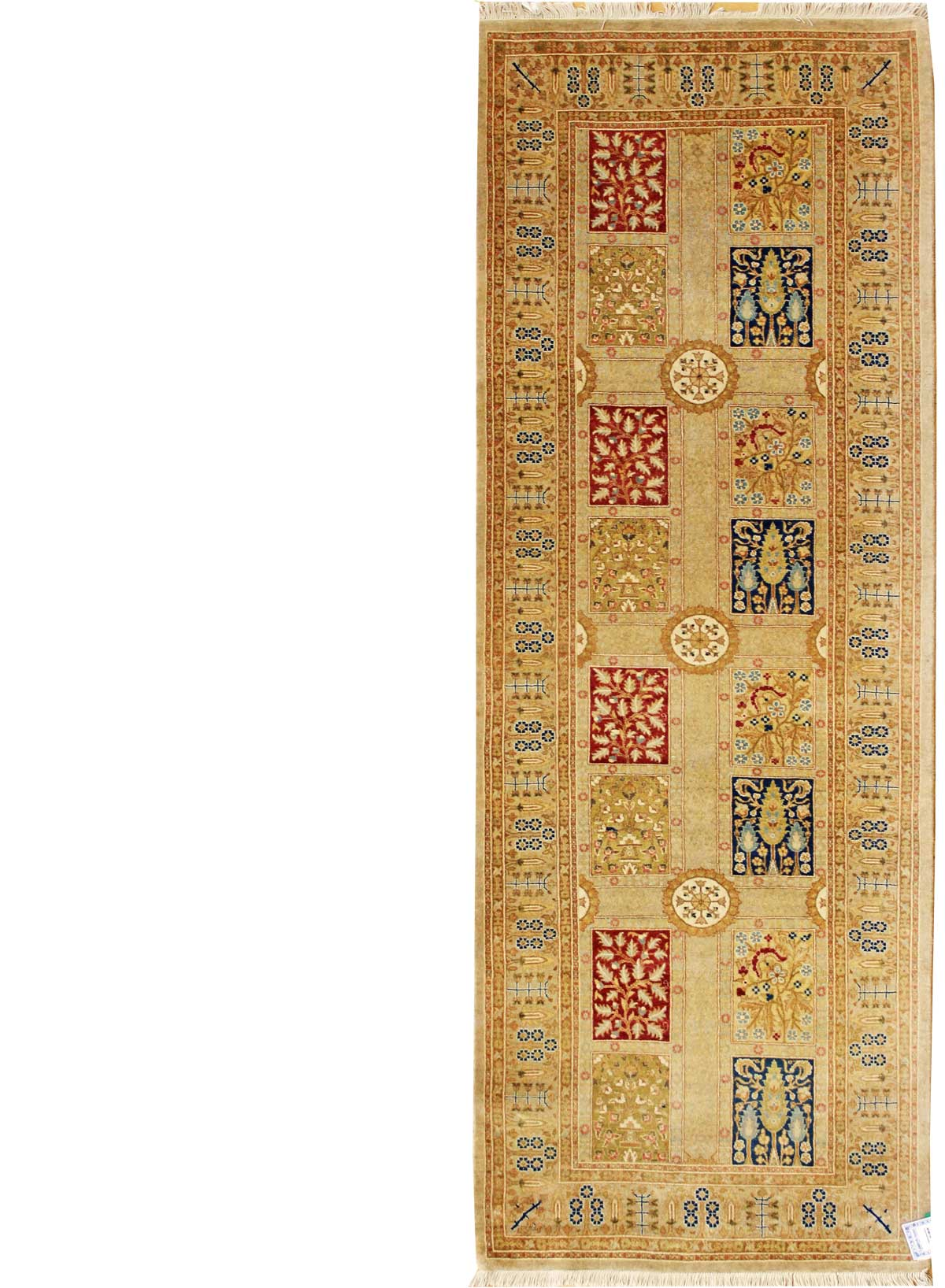 Panel Tabriz Handwoven Traditional Rug