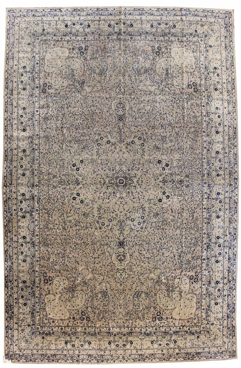 Antique Sivas Handwoven Traditional Rug