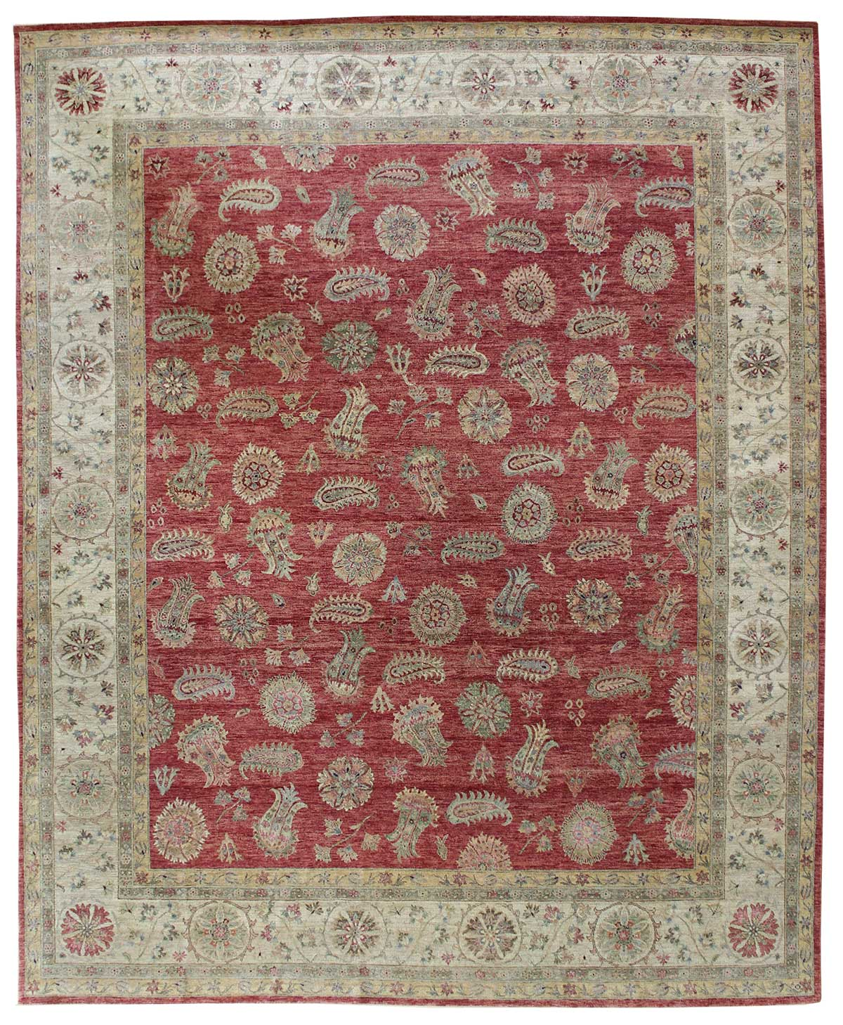 Tulip Handwoven Traditional Rug