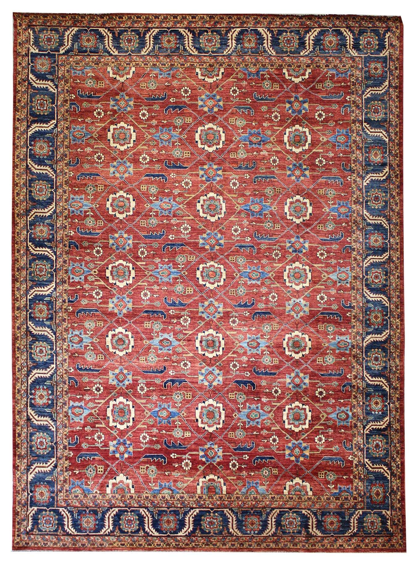 Veramin Handwoven Traditional Rug