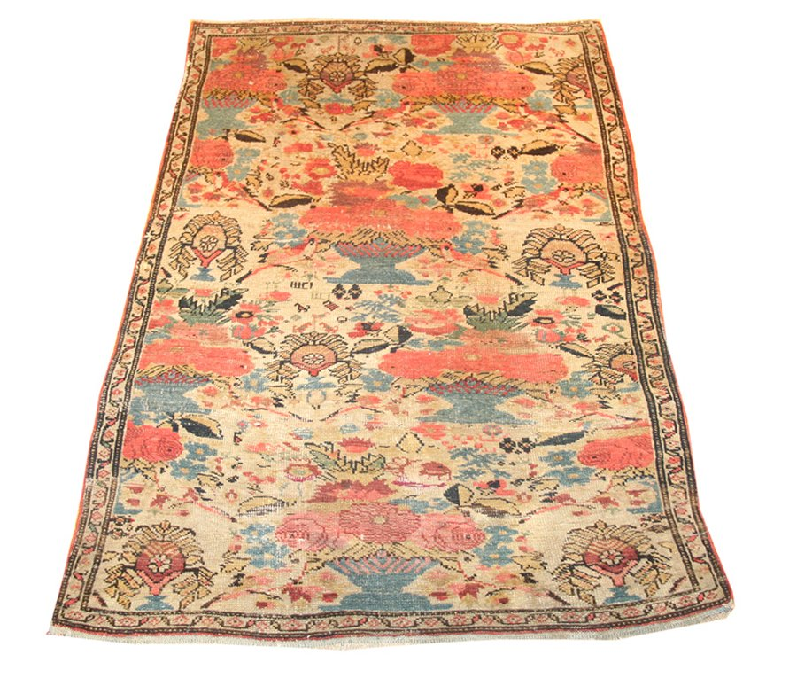 Antique Zuli Sultan Handwoven Traditional Rug