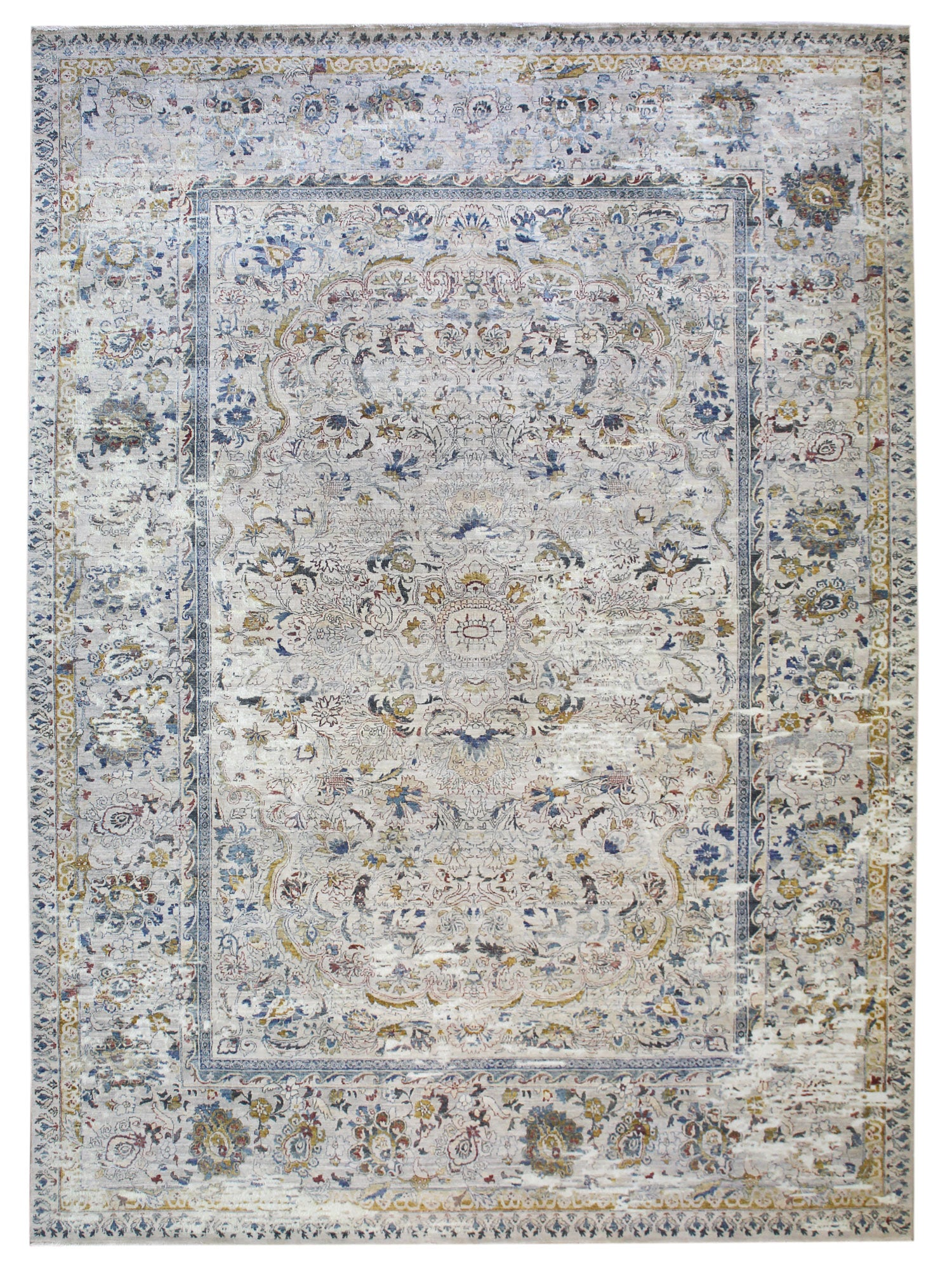 Amritsar Handwoven Transitional Rug