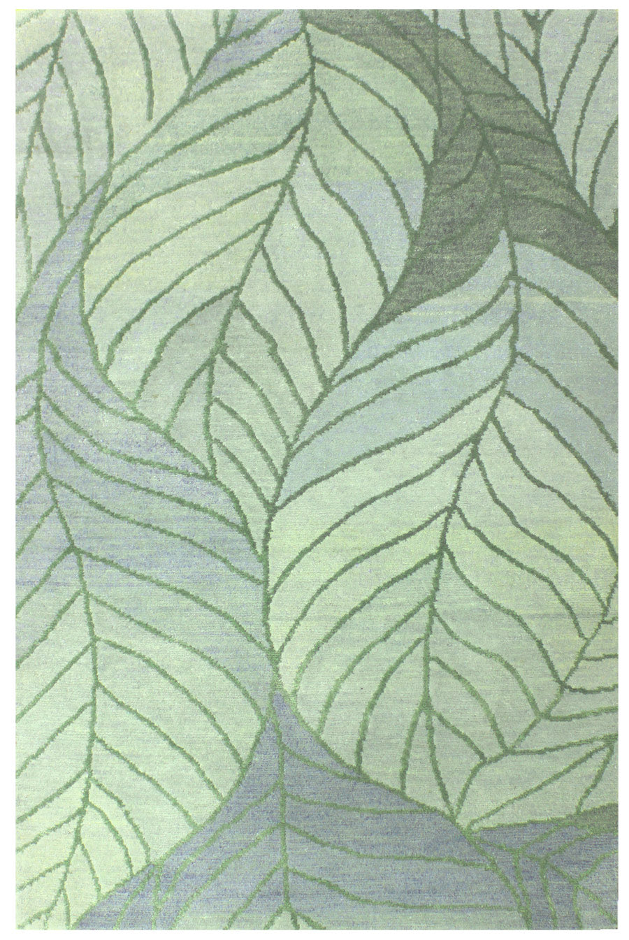 Beech Leaf Handwoven Transitional Rug