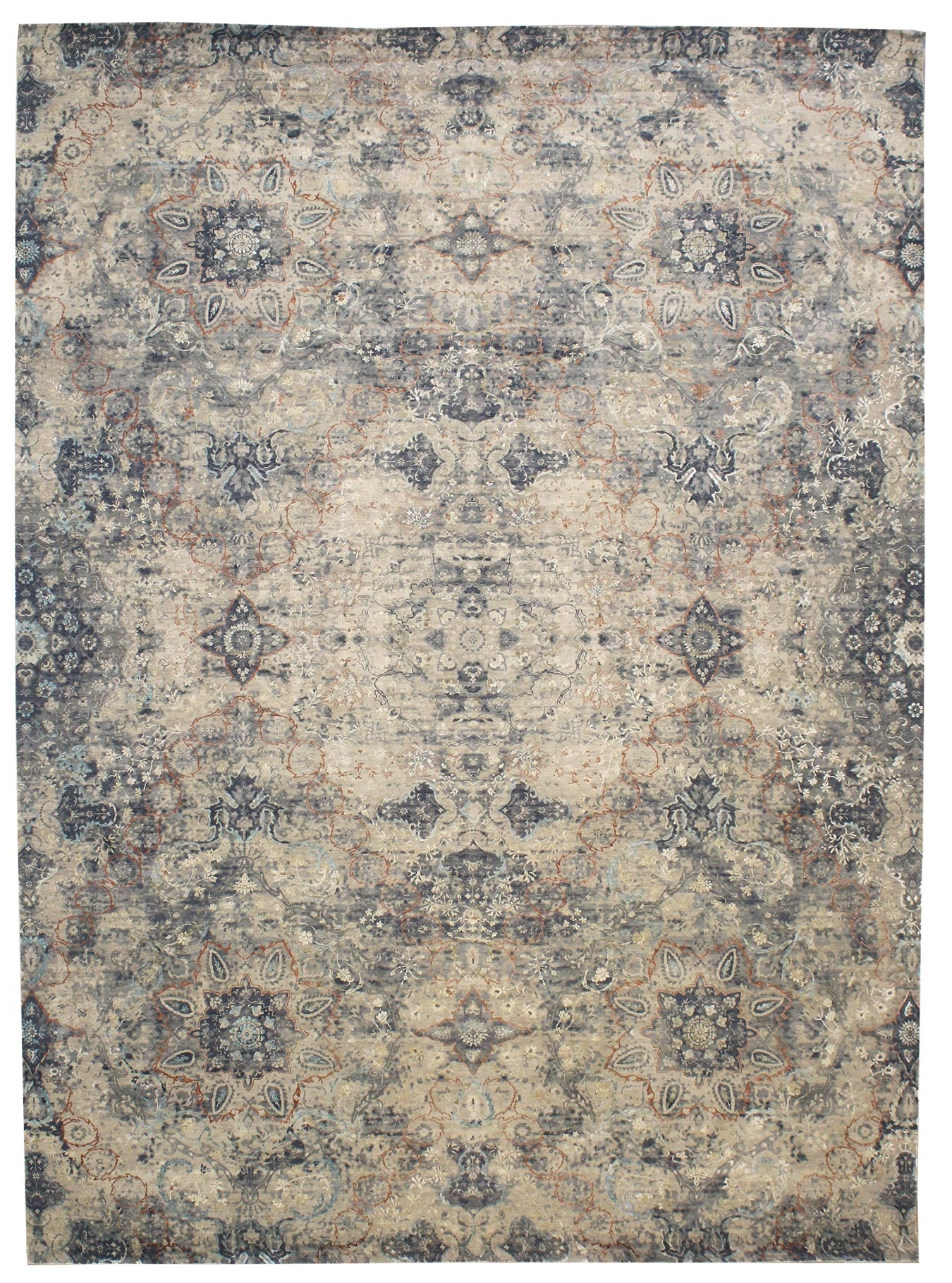Bhavna Handwoven Transitional Rug