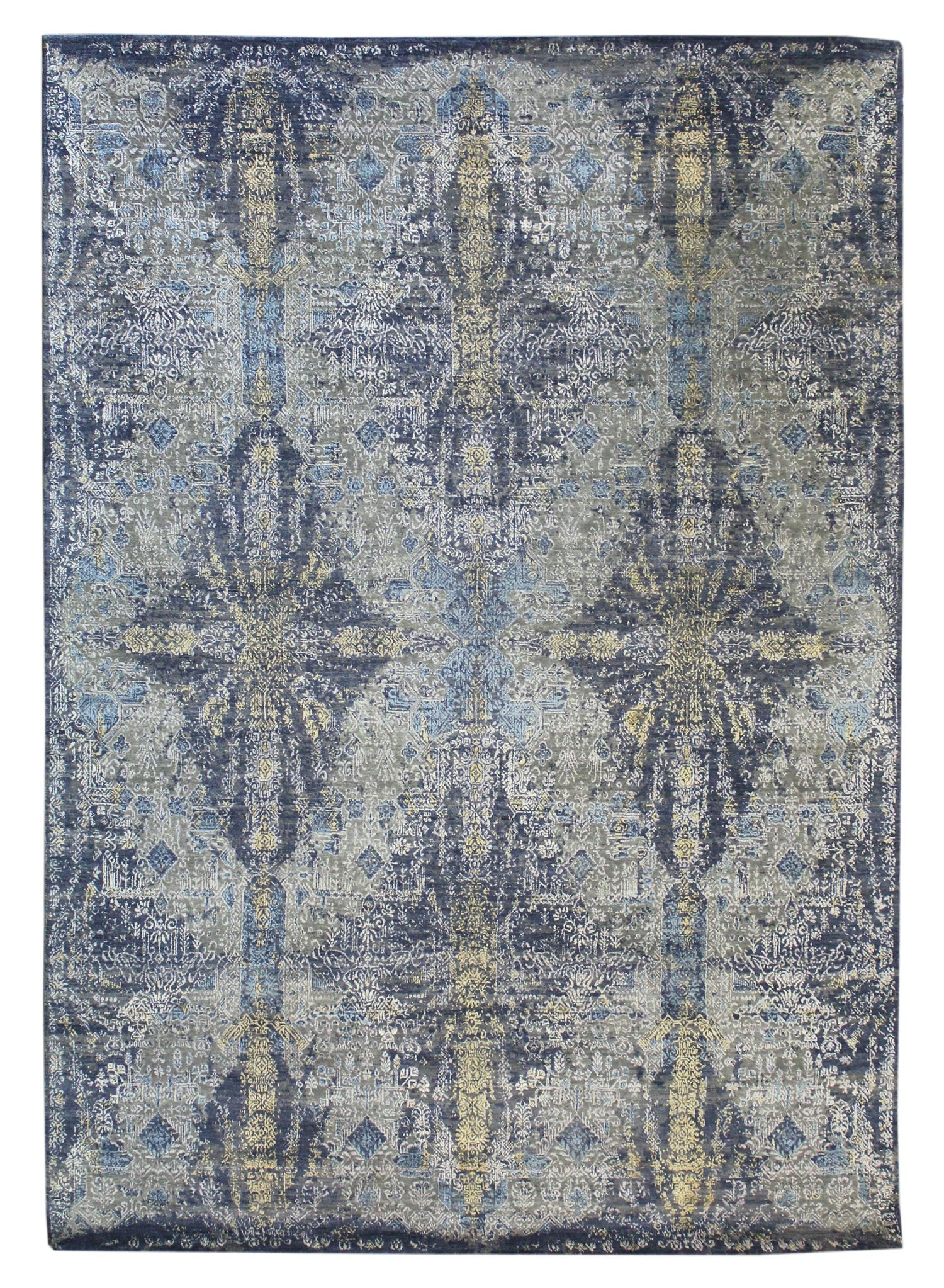 Crystal Handwoven Transitional Rug