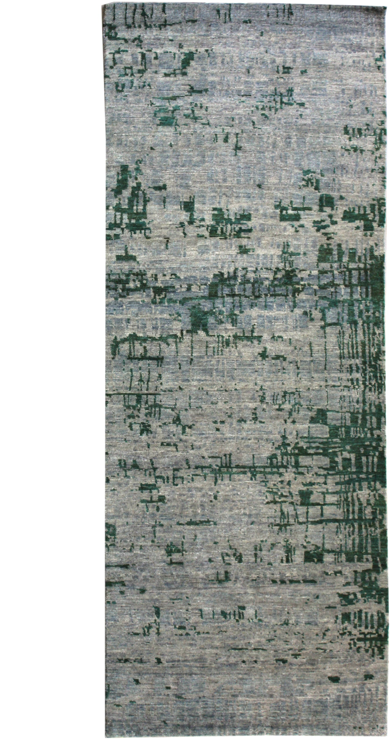 Erased Look Handwoven Transitional Rug