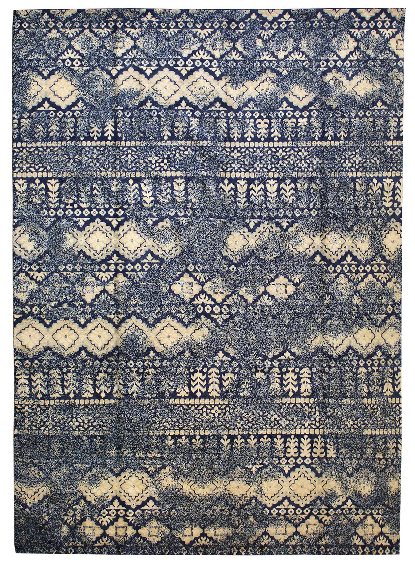 Fair Isle Handwoven Transitional Rug