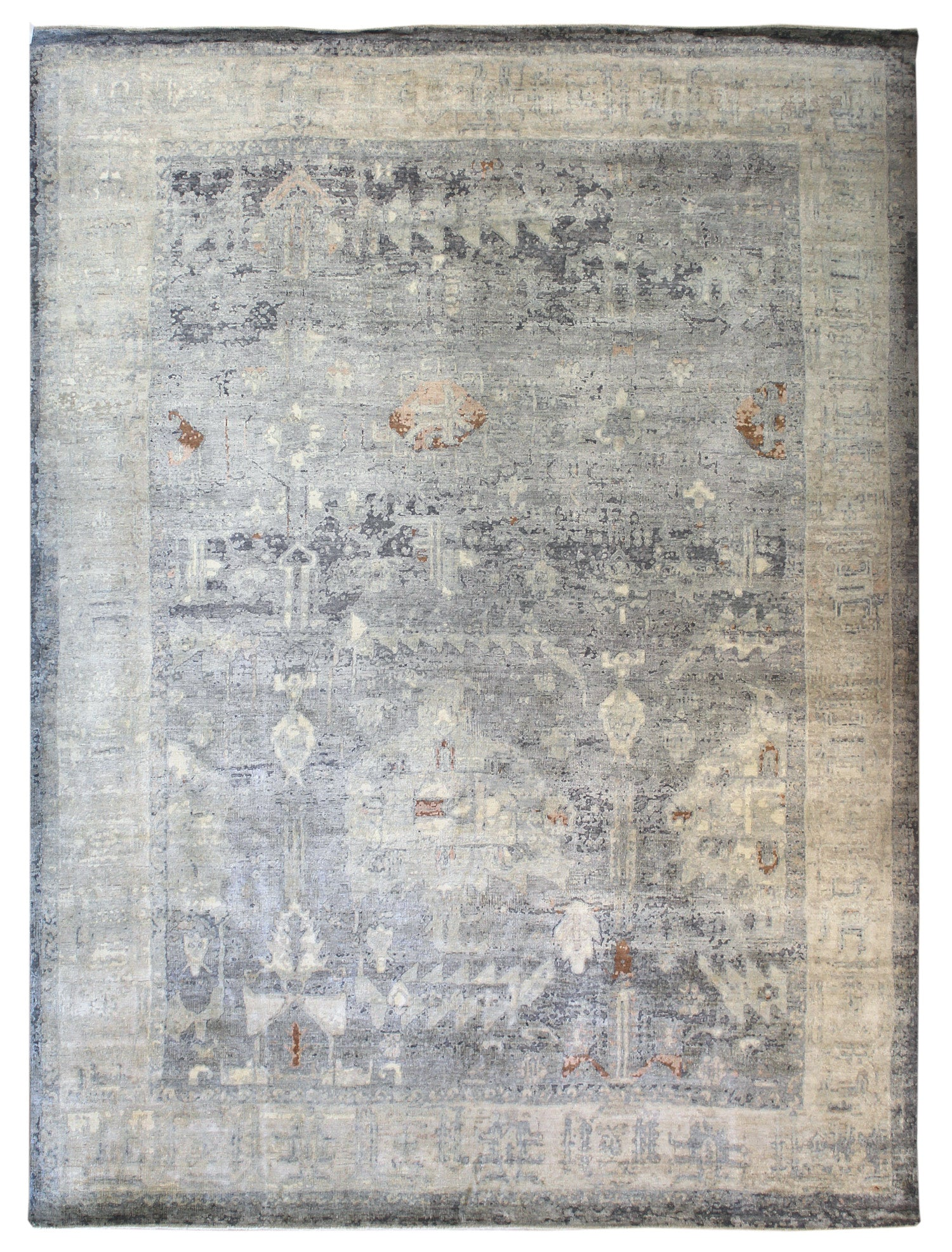 Heirloom Handwoven Transitional Rug