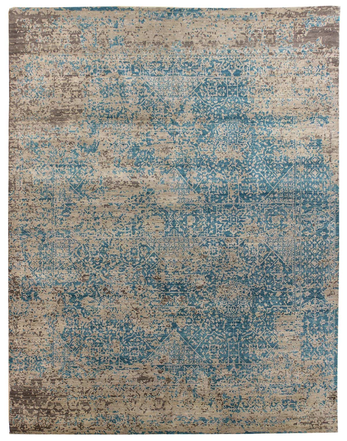 Mamluk Handwoven Transitional Rug