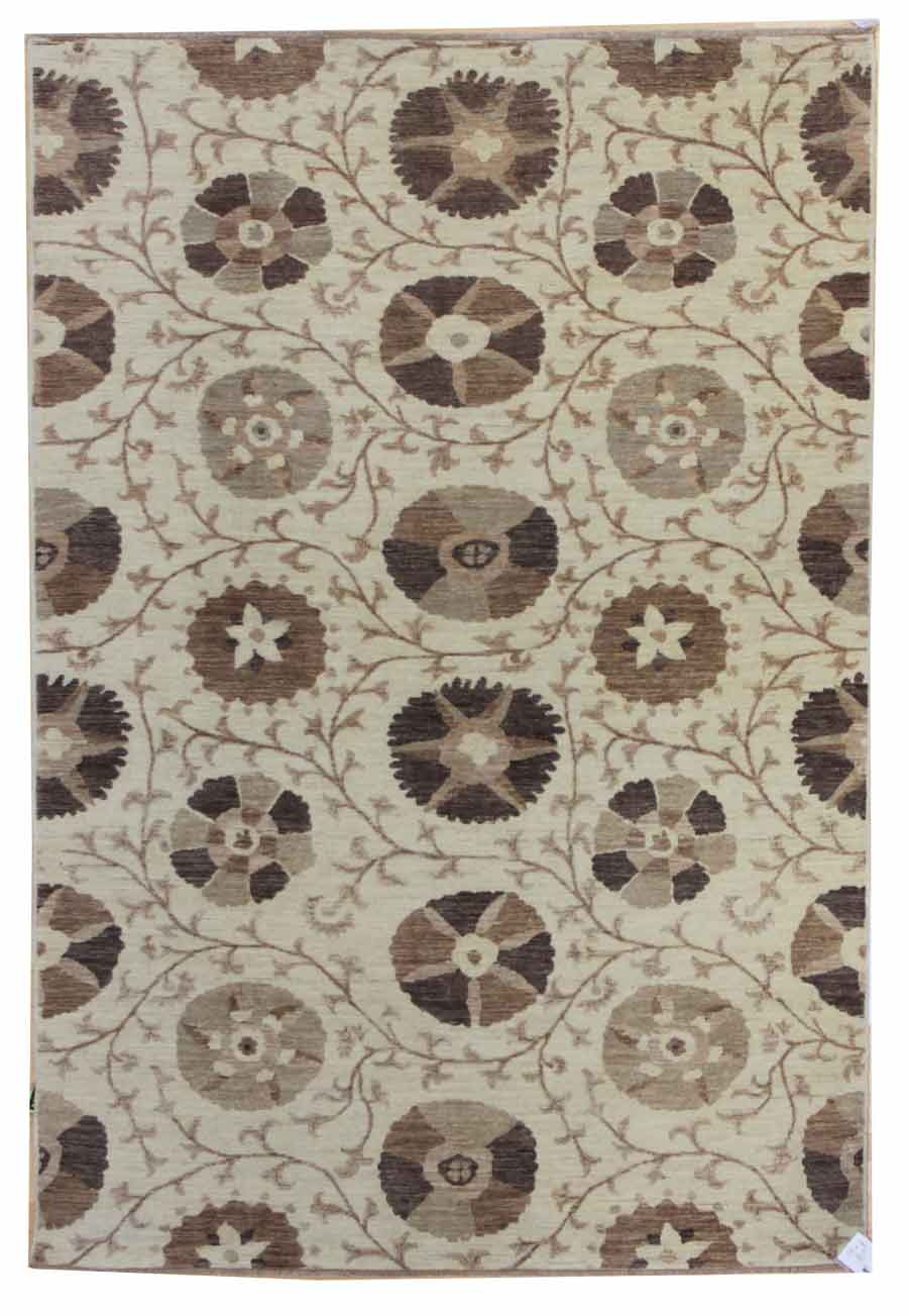 May Blossom Handwoven Transitional Rug