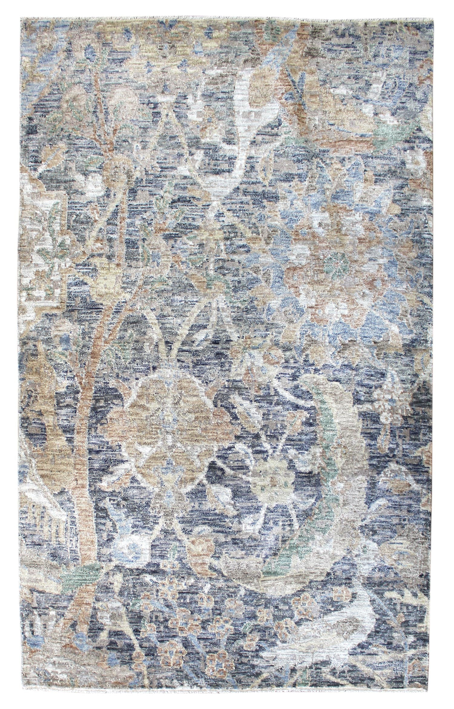 Moghul Handwoven Transitional Rug