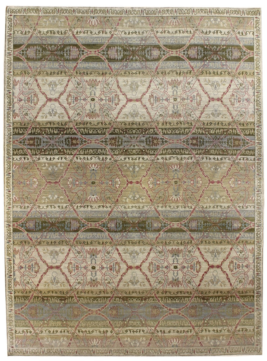 Shawl Handwoven Transitional Rug