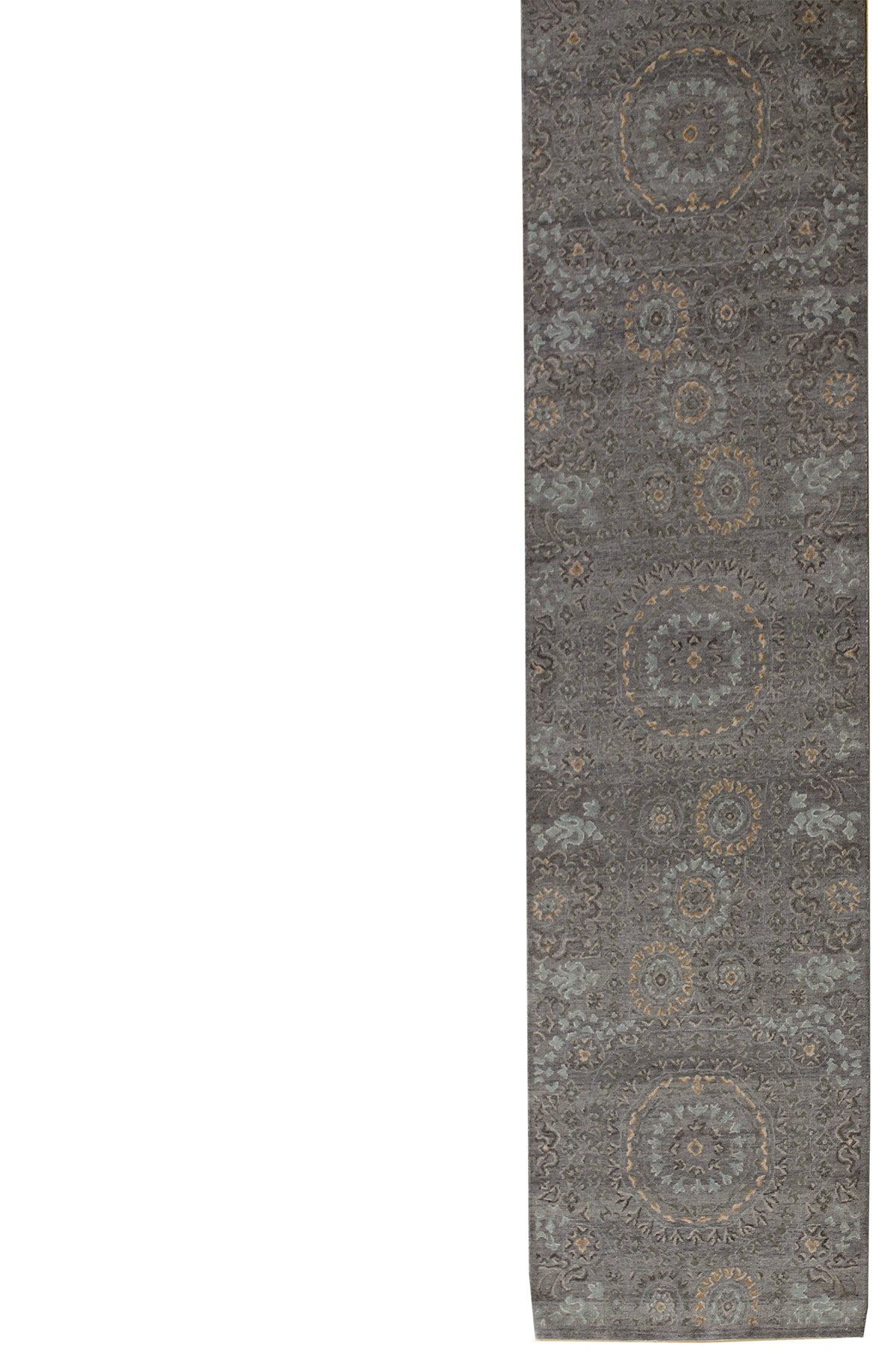 Suzani Handwoven Transitional Rug