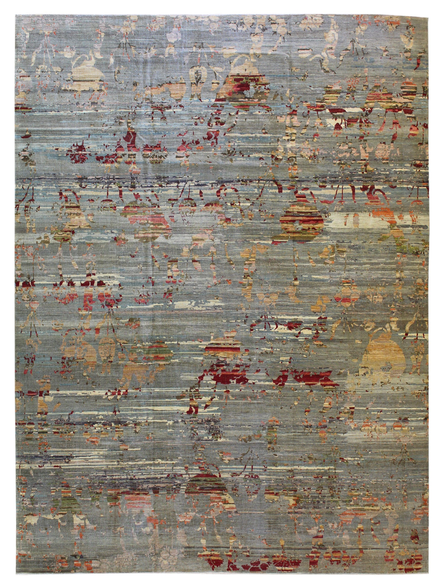 Wild Pomegranate Ple Transitional Rug