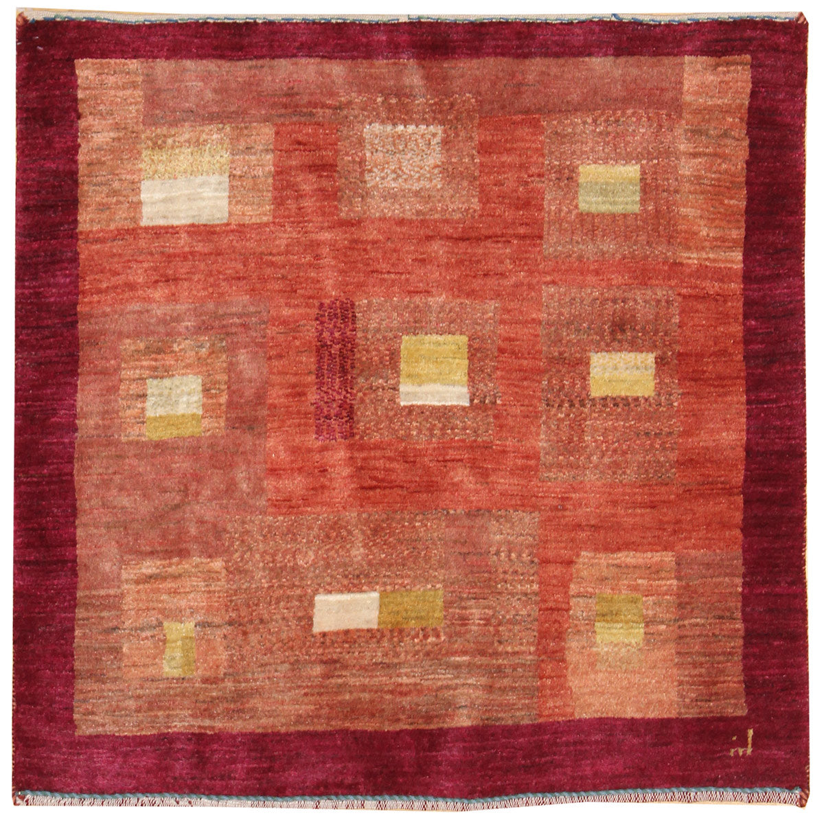 Gabbeh Handwoven Tribal Rug