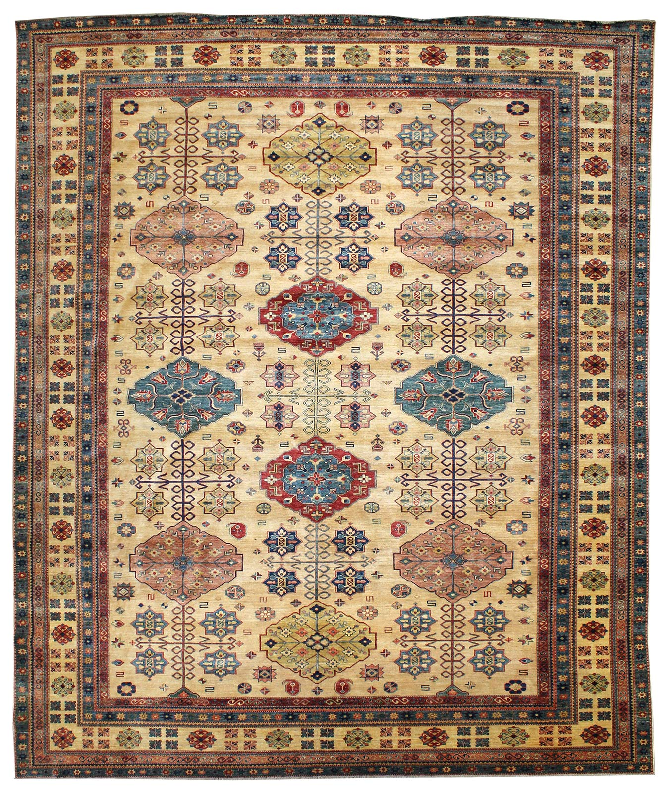 Shirvan Handwoven Tribal Rug