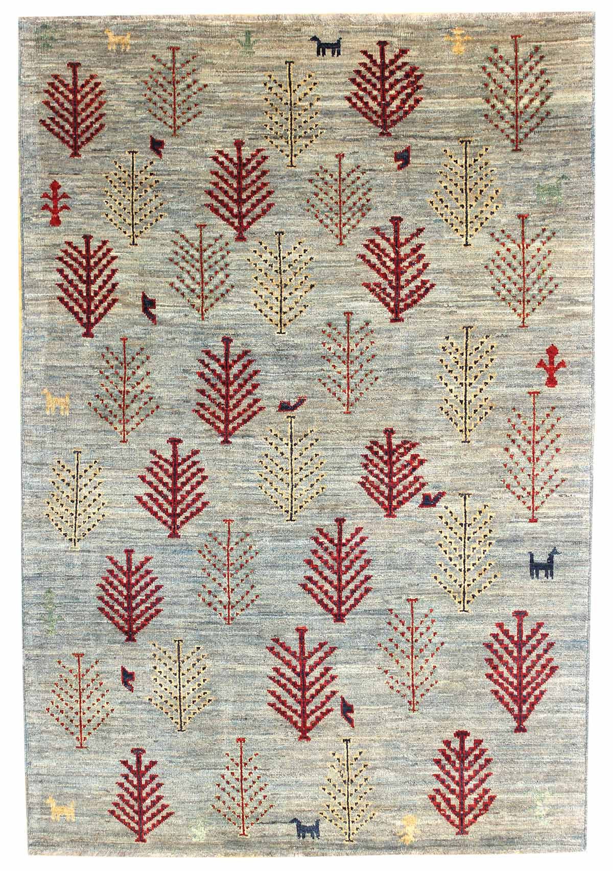 Tree Gabbeh Handwoven Tribal Rug