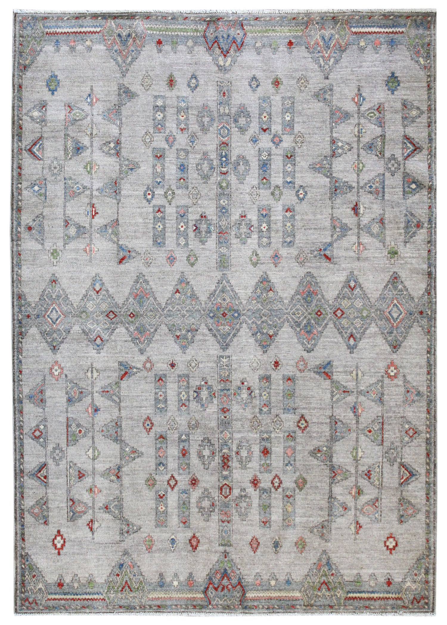 Tuareg Handwoven Tribal Rug