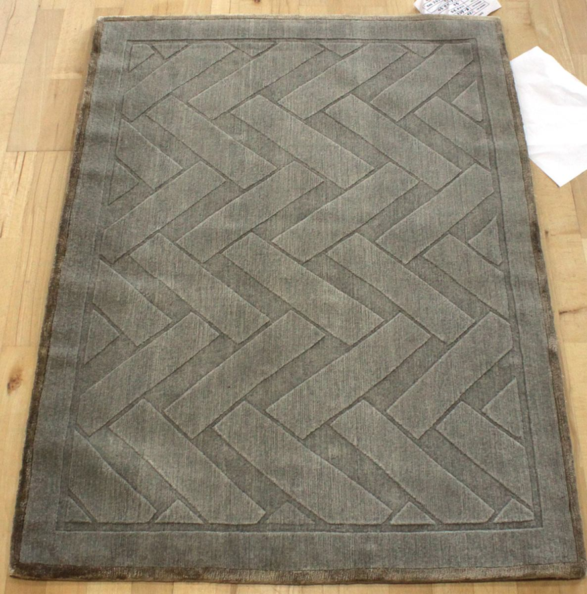 Basketry Handwoven Contemporary Rug