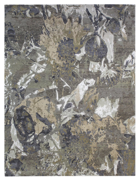 Fire Handwoven Contemporary Rug