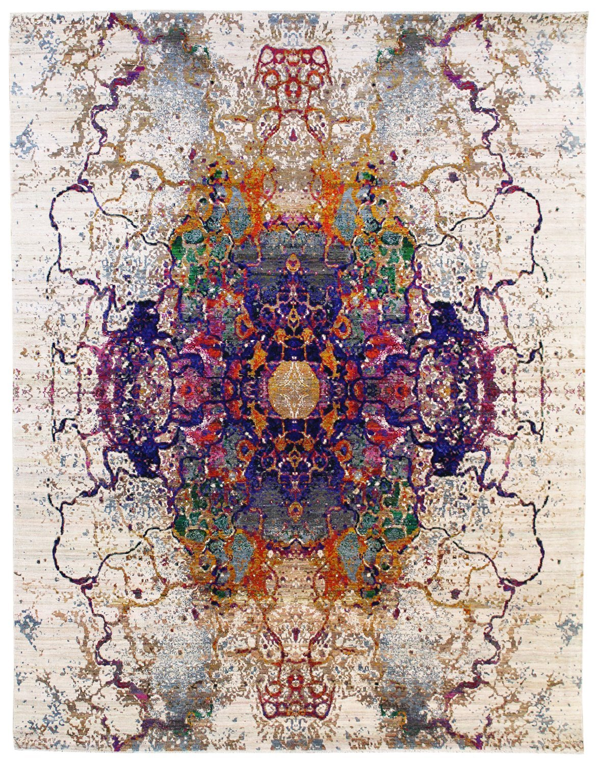 Galaxy Handwoven Contemporary Rug